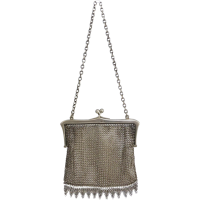antique_sterling_silver_mesh_purse Beryl Lane - Collectibles