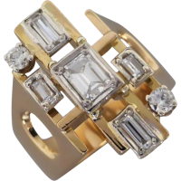 retro-diamond-ring Beryl Lane - Mid Century (1950- 1970)