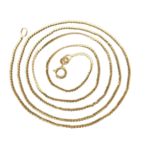 18ct_gold_serpentine_necklace Beryl Lane - SOLD
