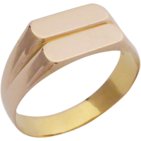 22ct-gold_signet_ring Beryl Lane - SOLD