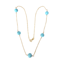 9ct_yellow_gold_italian_turquoise_necklace__142_1 Beryl Lane - SOLD