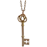 antique-9k-gold-conversion-key-pendant Beryl Lane - Victorian (1837- 1901)