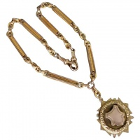 antique-9k-yellow-rose-gold-fancy-necklace-with-shield_1805601897 Beryl Lane - Necklaces & Pendants