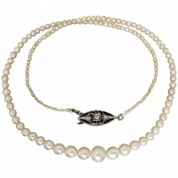 antique-c1900-cultured-and-natural-pearl-strand Beryl Lane - Pearl Jewellery