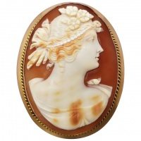 antique-shell-cameo-brooch Beryl Lane - New In
