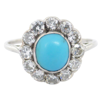 antique-turquoise-and-diamond-cluster-ring_-_copy Beryl Lane - Art Deco (1920- 1935)