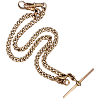 antique-victorian-9k-yellow-gold-fob-chain Beryl Lane - Victorian (1837- 1901)