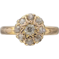 antique_diamond_cluster_ring Beryl Lane - SOLD