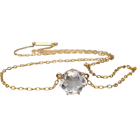 antique_rock-crystal-pendant-necklace Beryl Lane - Victorian 9ct Gold Long & Smooth Belcher Muff Guard Chain