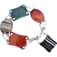 antique_scottish_agate_bracelet Beryl Lane - Bracelets & Bangles