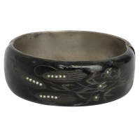 antique_victorian_austro_hungarian_silver_black_enamel_seed_pearl_bangle__188_1 Beryl Lane - SOLD