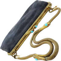art_deco_serpent_purse Beryl Lane - SOLD