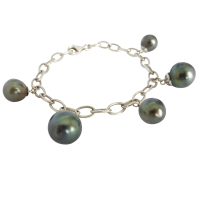 black_tahitian_pearl_charm_bracelet_in_sterling_silver____474 Beryl Lane - SOLD