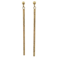 9ct-Yellow-Gold-Facetted-Dangle-Earrings-99-1 Beryl Lane - SOLD
