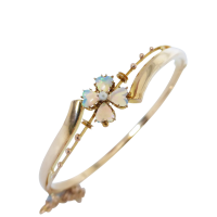 edwardian-opal-bangle Beryl Lane - SOLD