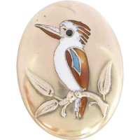 edwardian_kookaburra_brooch Beryl Lane - SOLD