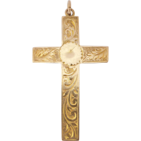engraved_vintage_cross Beryl Lane - SOLD