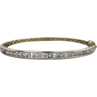 estate-diamond-bangle Beryl Lane - SOLD