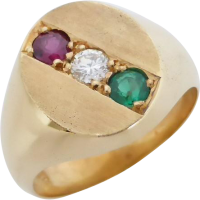 gemstone_signet_ring Beryl Lane - Rings