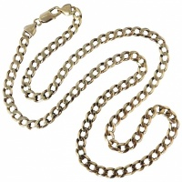 gents-9k-yellow-gold-curb-necklace Beryl Lane - SOLD