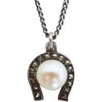 horseshoe_and_pearl_pendant Beryl Lane - SOLD