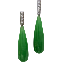 jade-and-diamond-drop-earrings Beryl Lane - Earrings
