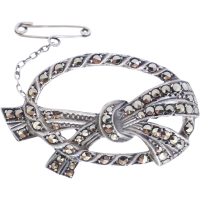 lega_marcasite_jewellery Beryl Lane - Brooches & Pins