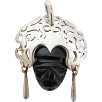 mexican_mask_pendant Beryl Lane - SOLD