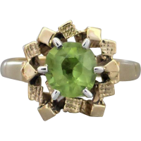 peridot_vitnage_ring Beryl Lane - SOLD