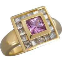 pinksapphire_diamond_ring Beryl Lane - SOLD