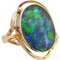 retro_opal_triplet_ring_9ct_gold Beryl Lane - SOLD
