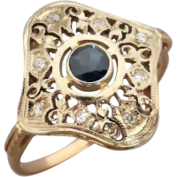 sapphire_diamond_filigree_ring_1155303022 Beryl Lane - SOLD