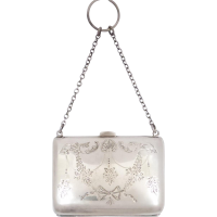 sterling_silver_chatelaine_purse Beryl Lane - Collectibles