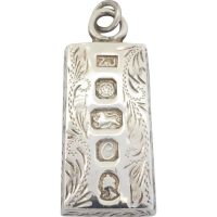 sterling_silver_jubille_pendant Beryl Lane - Antique Scottish Sterling Silver Aberdeen Granite Cross Necklace