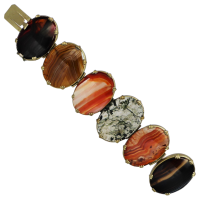 victorian-agate-bracelet Beryl Lane - Antique Scottish Jewellery