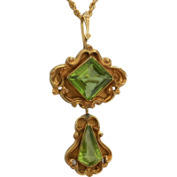 victorian-peridot-pendant_brooch Beryl Lane - Necklaces & Pendants