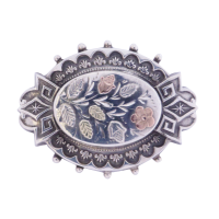 victorian-silver-brooch Beryl Lane - SOLD