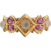 victorian_moonstone_ruby_ring Beryl Lane - SOLD
