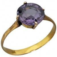 vintage-14k-gold-colour-change-alexandrite-ring Beryl Lane - Rings