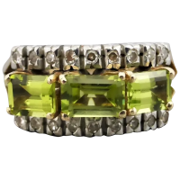 vintage-14k-gold-peridot-and_diamond_ring Beryl Lane - Rings