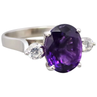 vintage-18k-white-gold-russian-amethyst_ring Beryl Lane - Rings