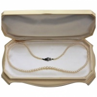 vintage-1950s-graduated-cultured-akoya-pearl-necklace Beryl Lane - Pearl Jewellery