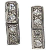 vintage-art-deco-platinum-diamond_earrings Beryl Lane - Upcycled Vintage Jewellery