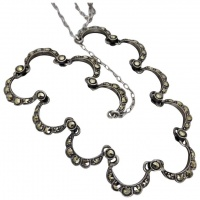 vintage-art-deco-silver_-marcasite-necklace Beryl Lane - New In
