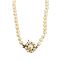 vintage-cultured-akoya-pearl-strand-20-inch-with-9ct-pearl-cluster-clasp-558 Beryl Lane - Shop Beryl Lane