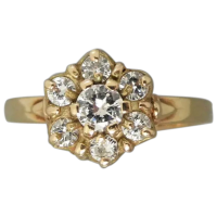 vintage-diamond-cluster-ring_317948723 Beryl Lane - Rings