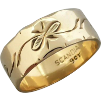 vintage-engraved-band Beryl Lane - SOLD