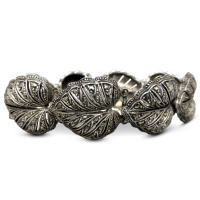 vintage-silver-marcasite-bracelet Beryl Lane - Vintage 1930's Art Deco German Sterling Silver Marcasite 'Bird in Flight' Brooch