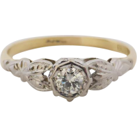 vintage_diamond_engagement_ring Beryl Lane - SOLD
