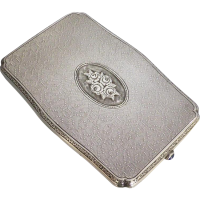 vintage_dutch_935silver_cigarette_case Beryl Lane - Collectibles